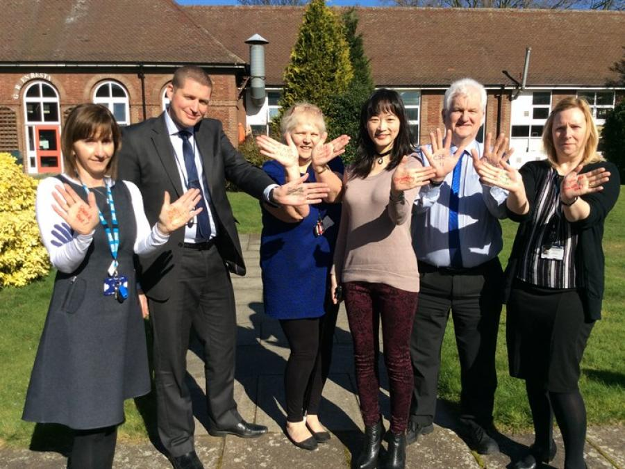 Members of the multi-agency CSE team at Doncaster Children's Services Trust