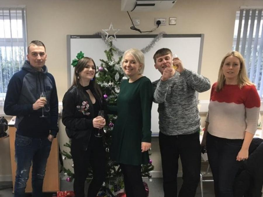 Festive fun at Bentley Training Centre