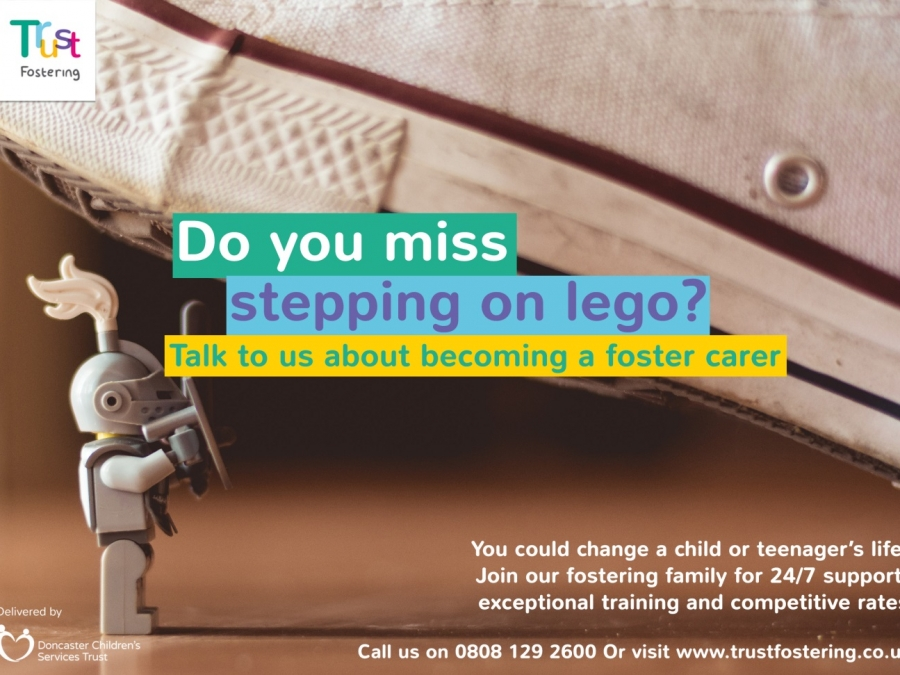Do you miss stepping on Lego?