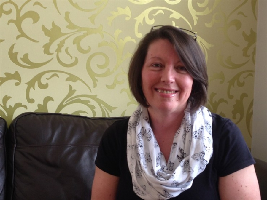 One of our Fostering Heroes - Julie Beard.