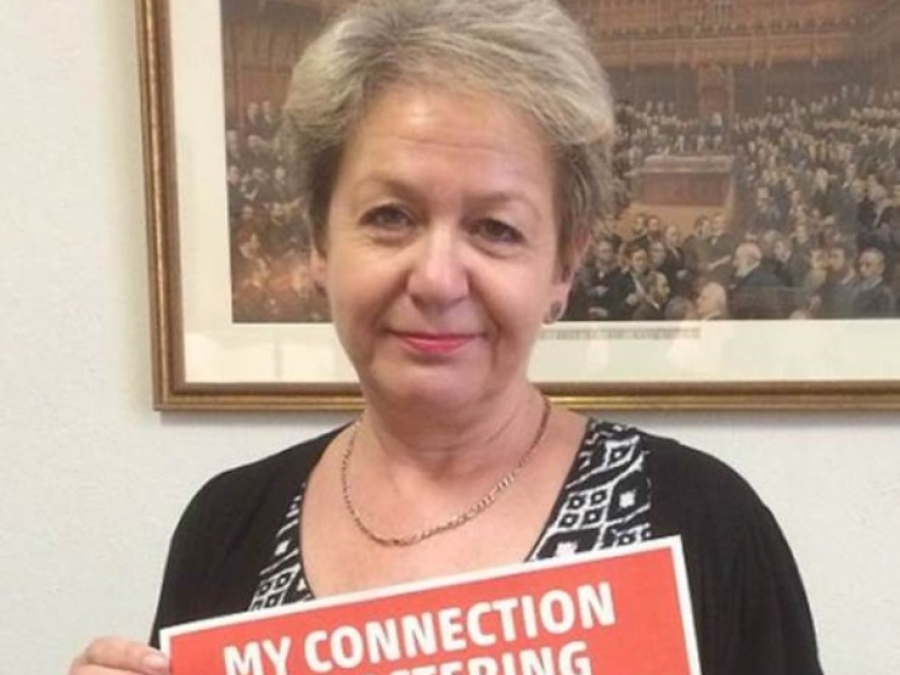 Rosie Rosie Winterton, MP for Doncaster Central, shows her support for Doncaster foster carers