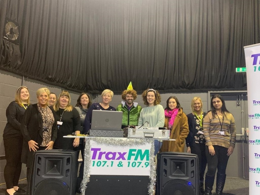 Trust staff and Trax FM toy appeal